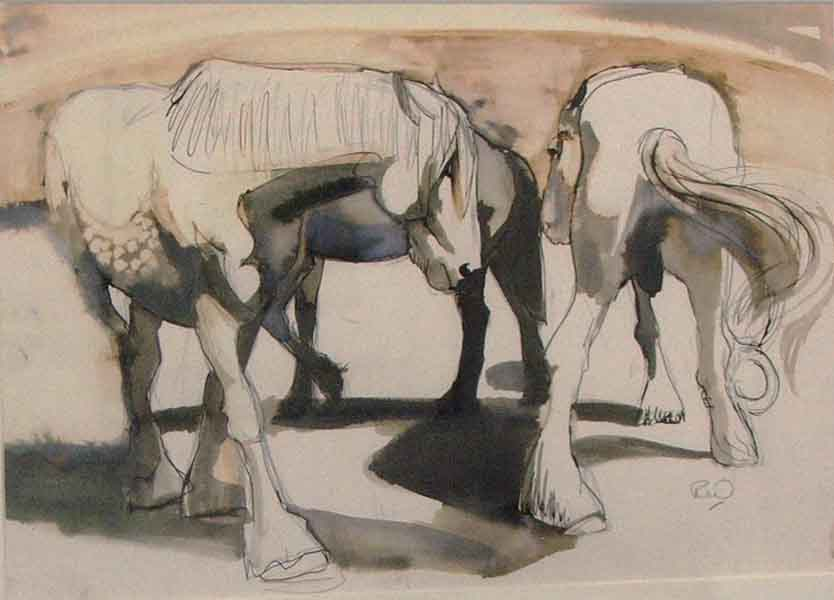 carousel-study-of-working-horses