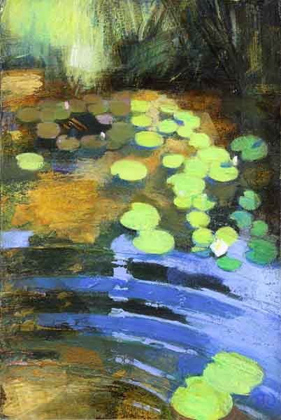 lilies-and-light-on-the-pond