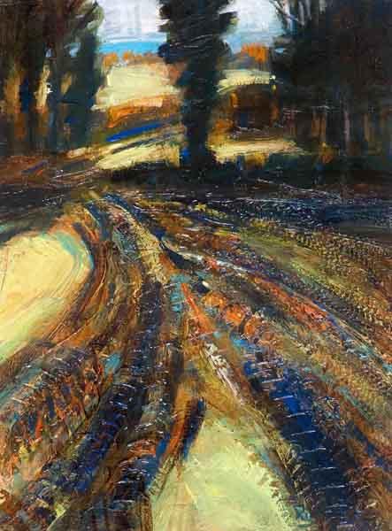 tractor-tracks-winter-landscape