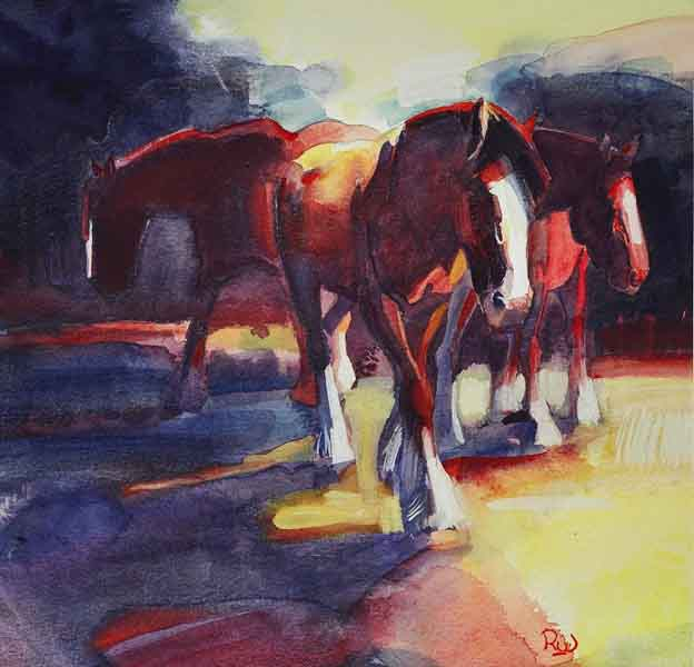 working-horses