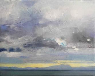 Clouds in Cardigan Bay